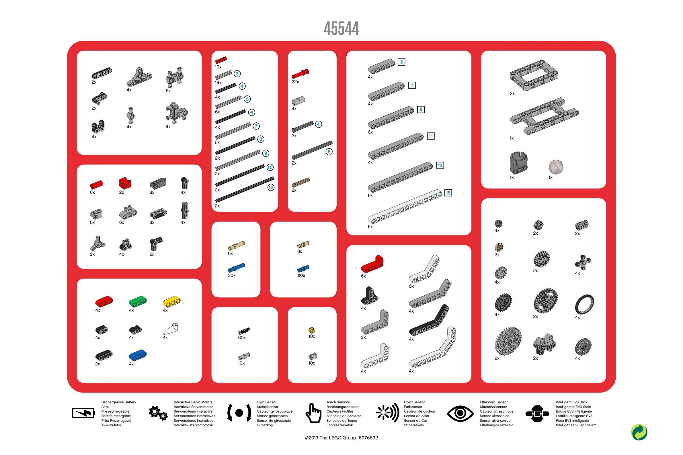 45544 sorting